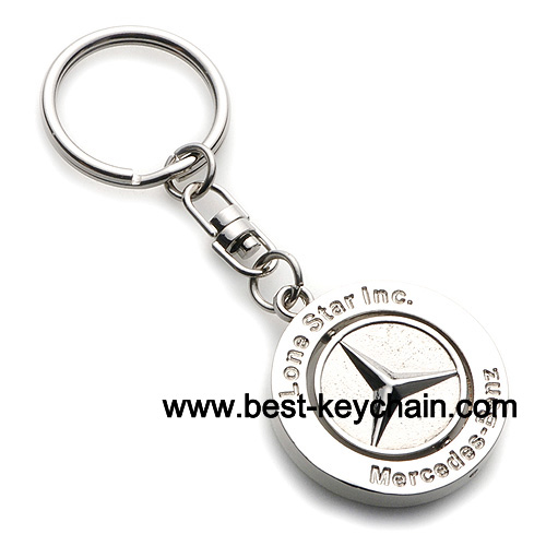 Promotion mercedes benz metal keyring auto logo key ring for Mercedes benz key holder