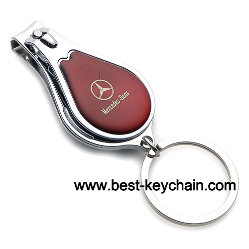 Promotion metal mercedes benz auto car logo nail clipper for Mercedes benz keychain