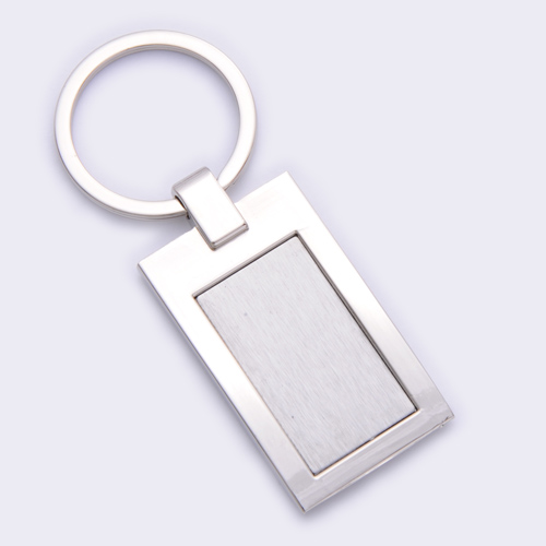 promotion metal keychain custom printed logo welcome