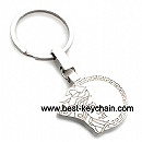 metal custom shape key chain keyring