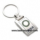 metal custom fire keychain key chain