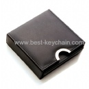 promotion pu leather gift cup mat