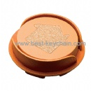 promotion house shape coaster