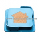 promotion house logo coaster