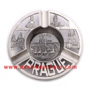 oem metal plate souvenir ashtray