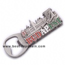 Bottle opener budapest souvenir fridge magnet