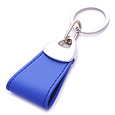 LEATHER KEYCHAIN WITH CLIENT SHAPE FOR PROMOTION