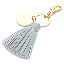 PROMOTION LEATHER TASSEL KEYCHAIN
