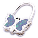 FOLD PURSE HANGER WITH BUTTERFLY SHAPE